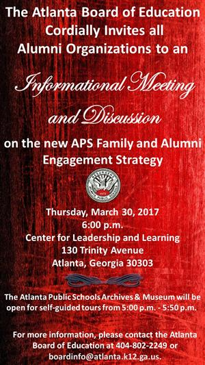 APS Alumni Meeting