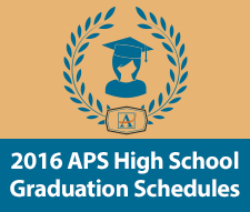 2016 Graduation Schedules