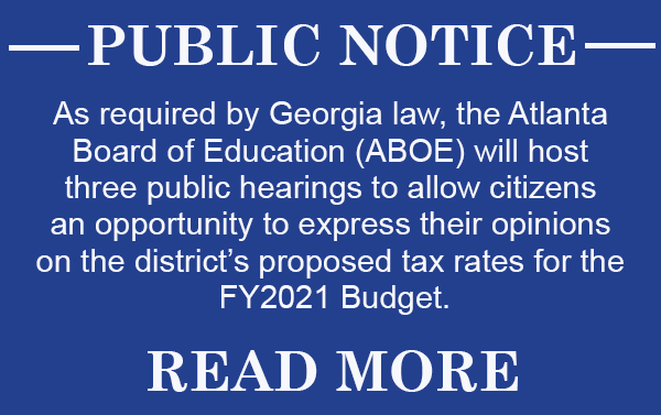 APS Budget Public Hearings