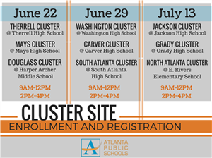 2016 Cluster Site Registration