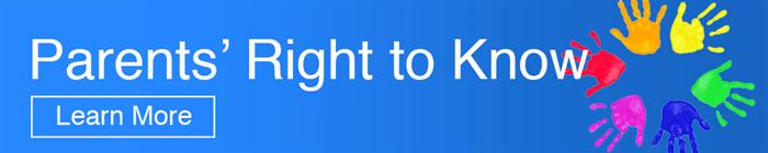 Parents Right to Know Banner
