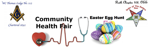 Health Fair and Easter Egg Hunt