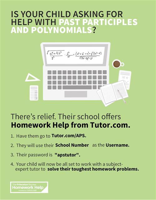 Online homework helpline