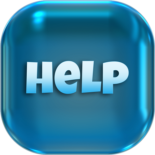 Image result for i need help button