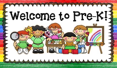 Image result for welcome to pre-k clip art