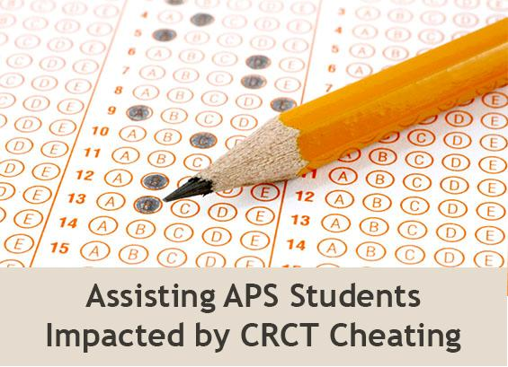 Assisting APS Students Impacted by CRCT Cheating