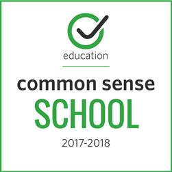 Common Sense Media Digital Certified School Badge