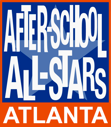 After-School All-Stars Logo in Blue and Orange