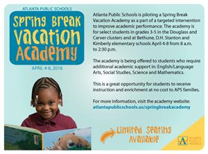 Spring Break Academy