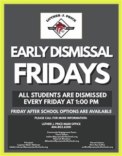 Early Dismissal Fridays