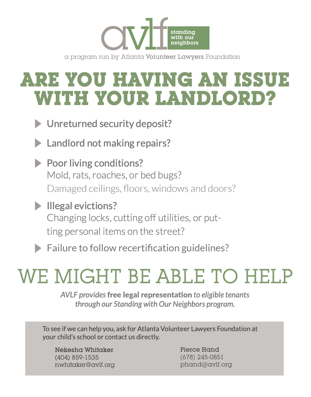 Are You Having Issues With Your Landlord?