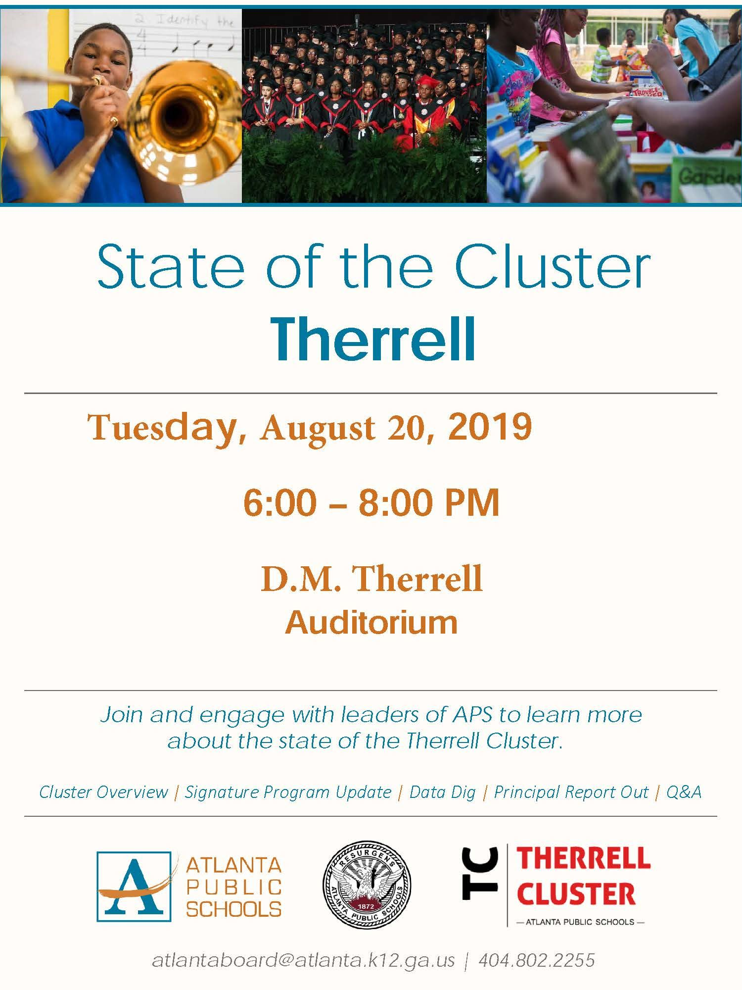Therrell Cluster Meeting