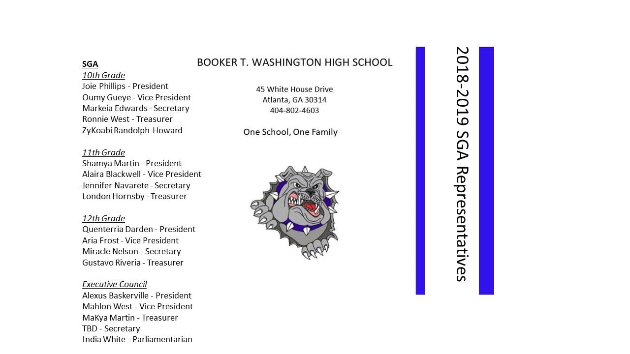 Atlanta Public Schools Calendar.Booker T Washington High School Calendar