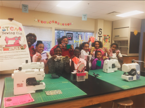 2017-2018 STEM Sewing Club