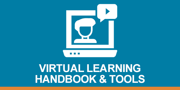 Virtual learning header graphic