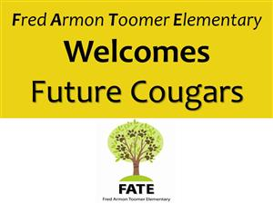 Welcome Future Cougars