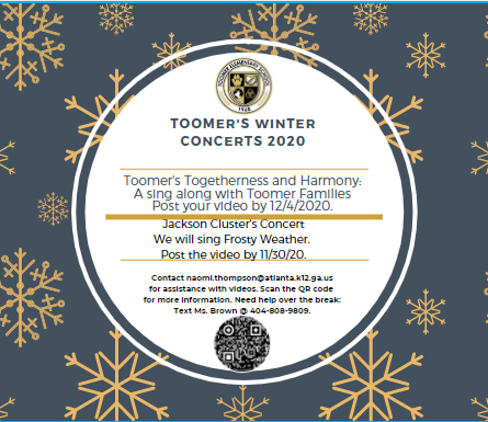 Get information here about Toomer Winter Concerts
