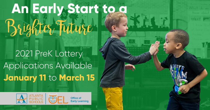 2021 Pre-K Lottery Application