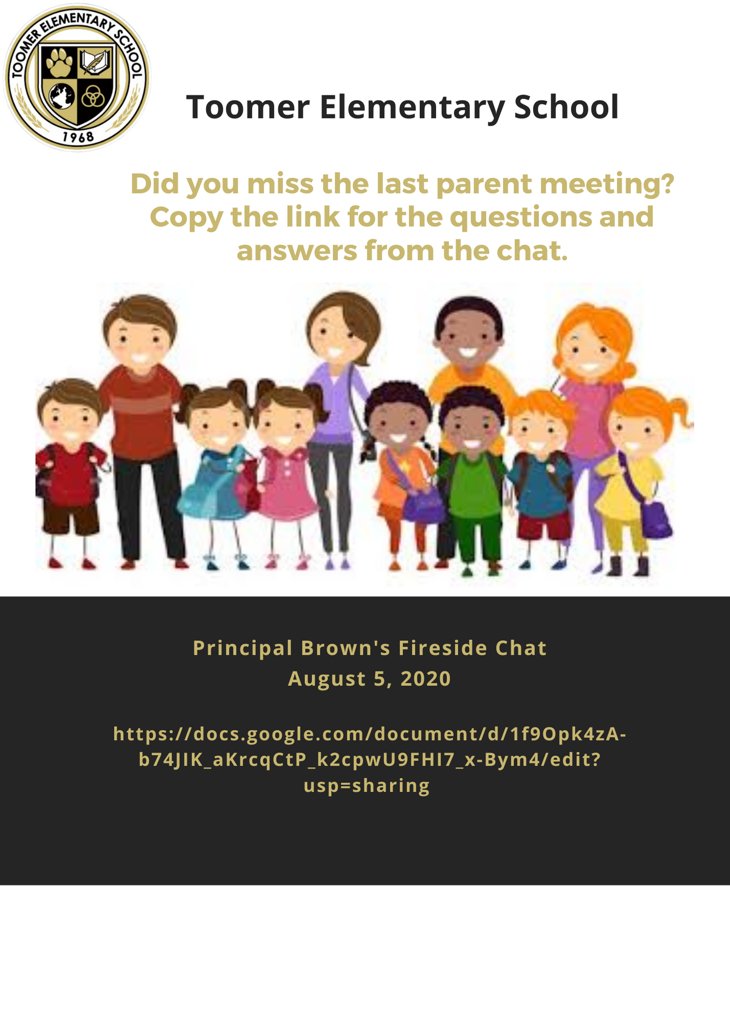 Q & A Parent Meeting 8-05-20