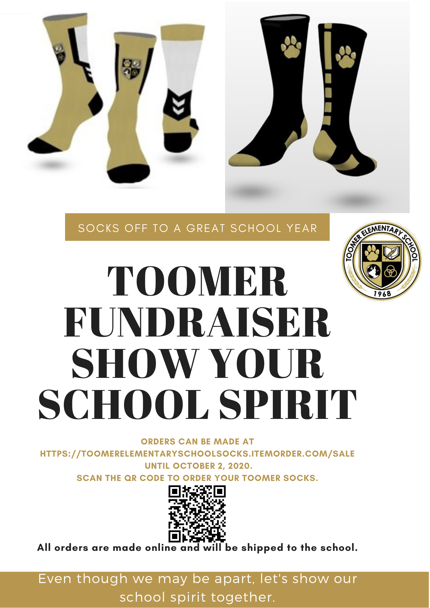 Toomer Fundraiser! Order your sock today!