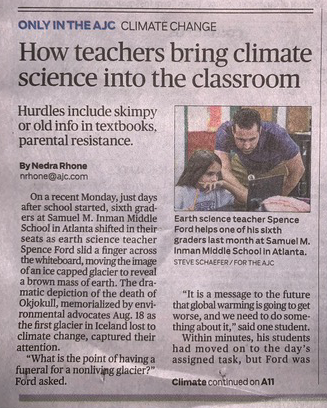 How teachers bring climate science into the classroom