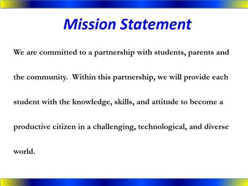 Bio And Mission Statement Mrs Pitts 8th Grade Ela