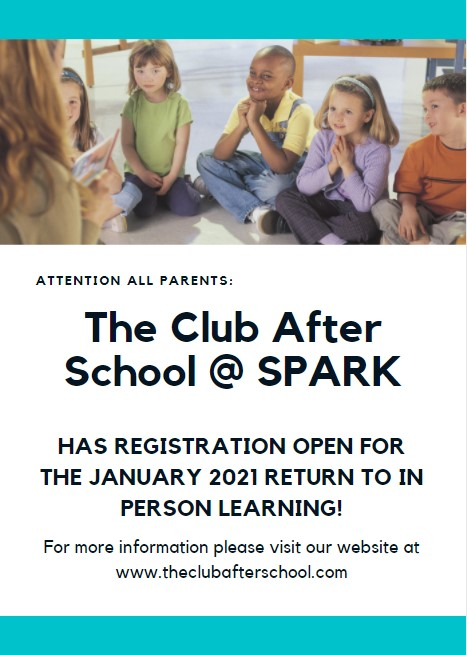 The Club After School Daycare - Register Now!