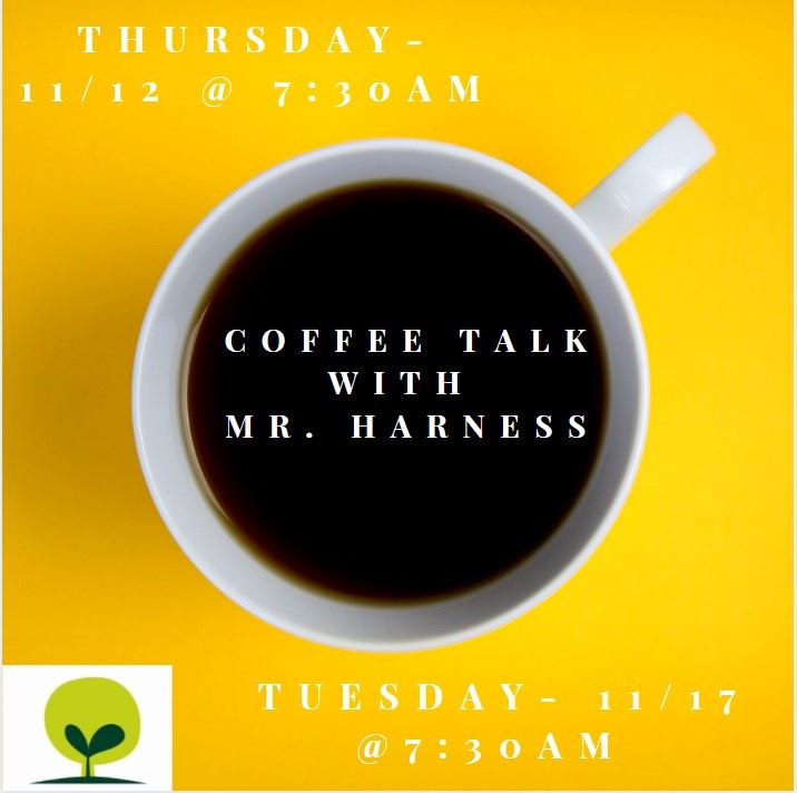 Coffee Talk with Mr. Harness