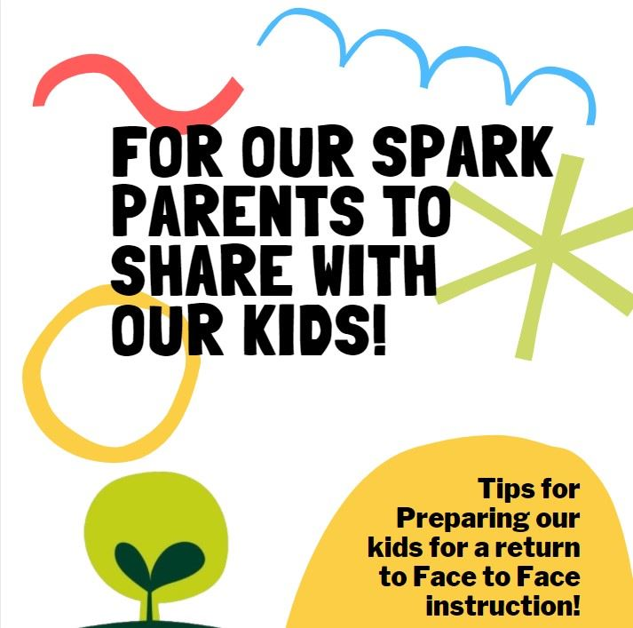 Preparing Our Kids for F2F Instruction - Parent Tips