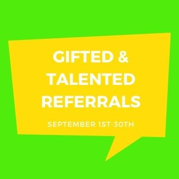 Parental Referral for Gifted Assessment