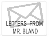 Letters from Mr. Bland