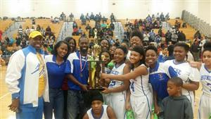 Congratulations to Bunche Middle School Girls Basketball Team for winning the APS Middle School Championship!!