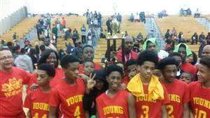 Congratulations to Young Middle School Boys Basketball Team for winning the APS Middle School Championship!!