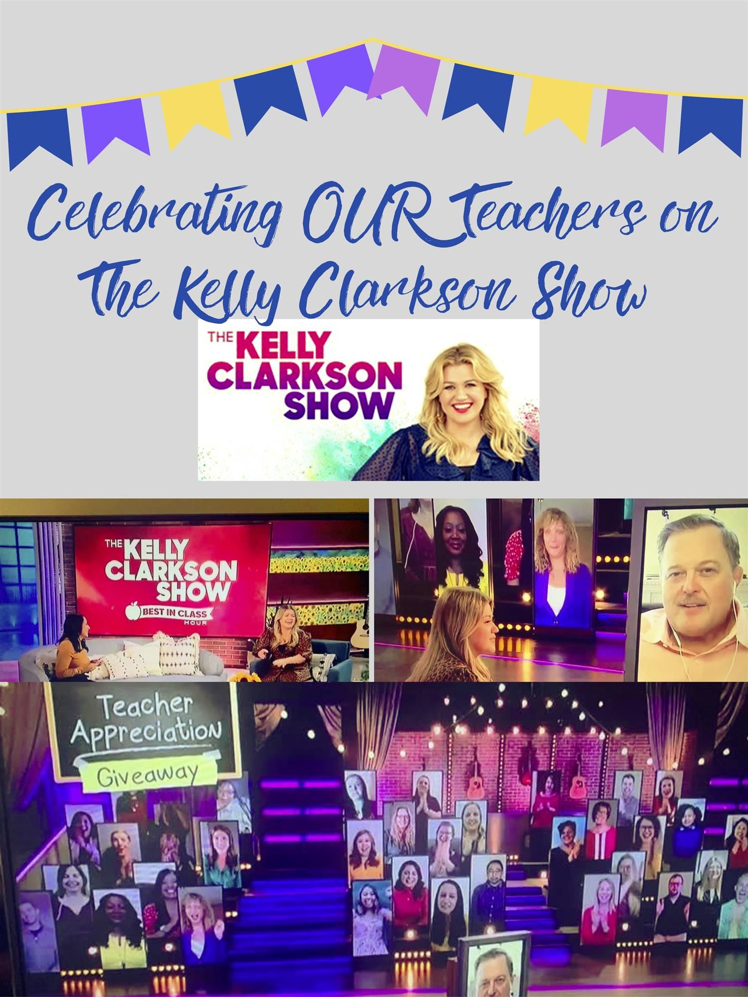 Celebrating OUR Teachers on The Kelly Clarkson Show