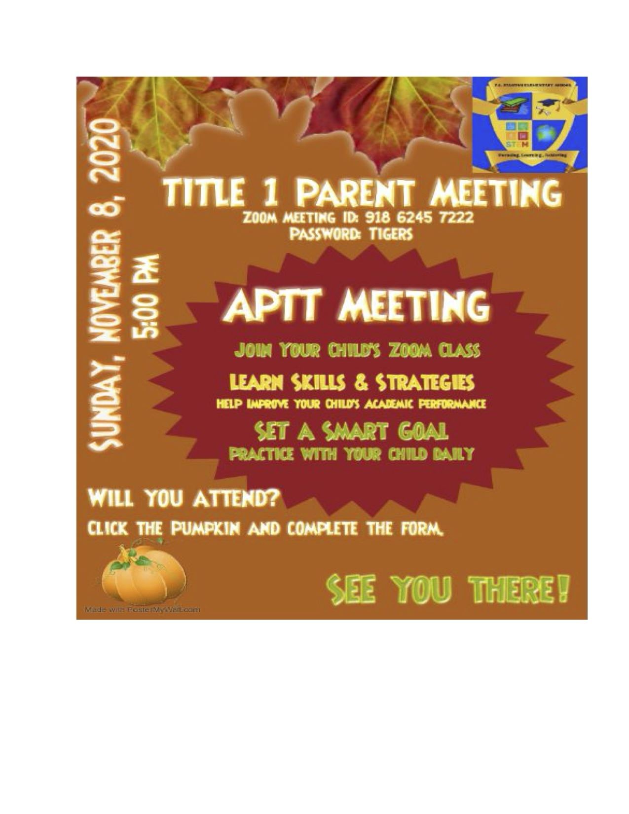 Title 1 Parent Meeting