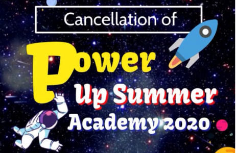 Cancellation of Power Up 2020