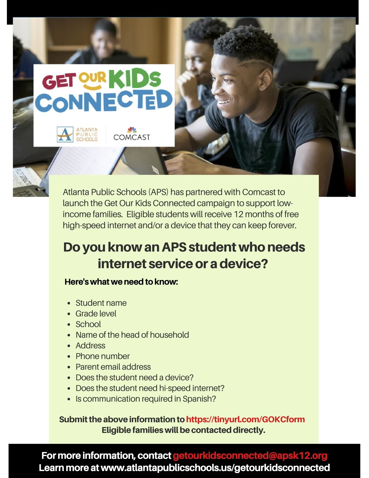 Get Our Kids Connected