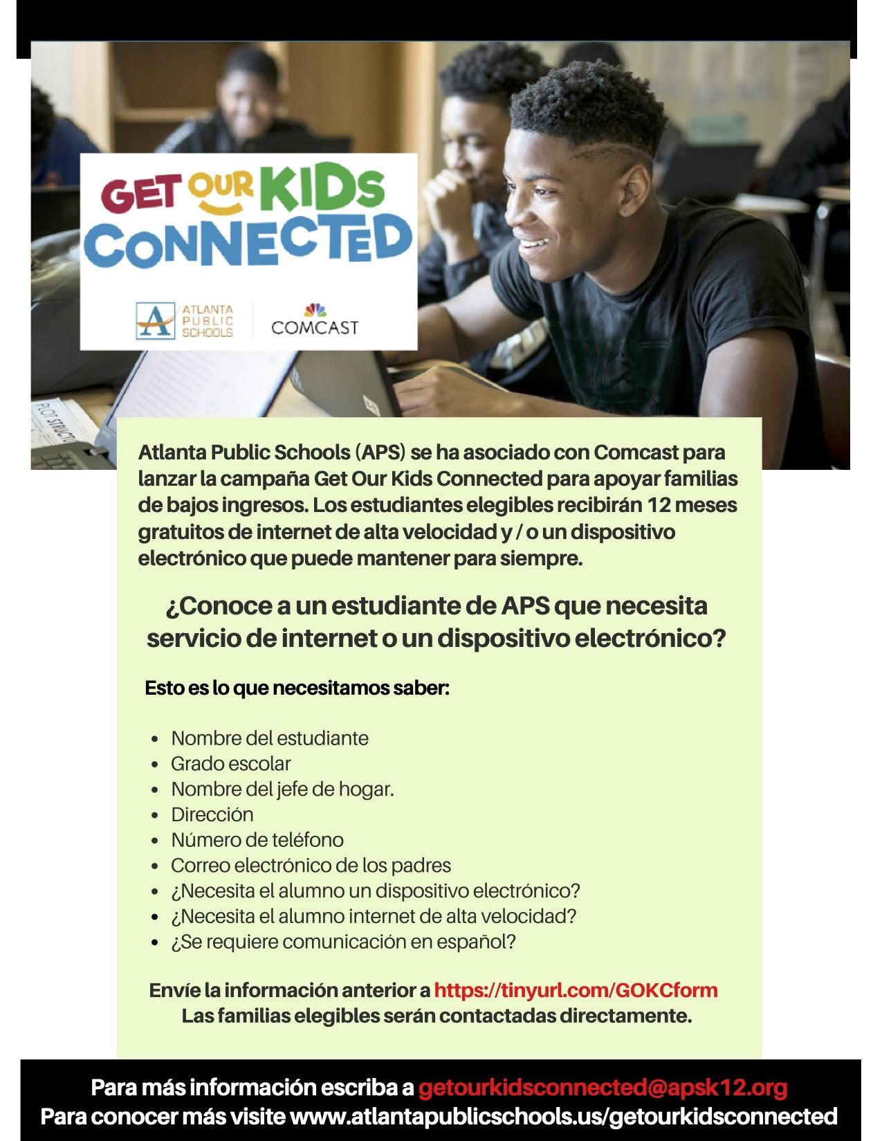Get Our Kids Connected (Spanish Version)