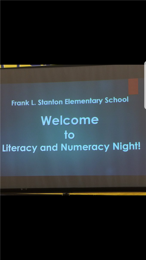 Tip Off Thursday Family Literacy Night