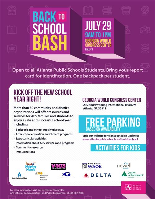 Back to School Bash 2017