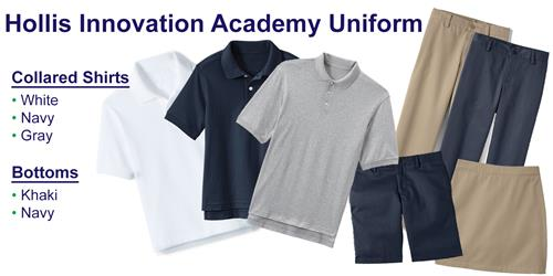 Hollis Innovation Academy uniform
