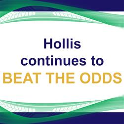 "Hollis Continues to ""Beat the Odds"""