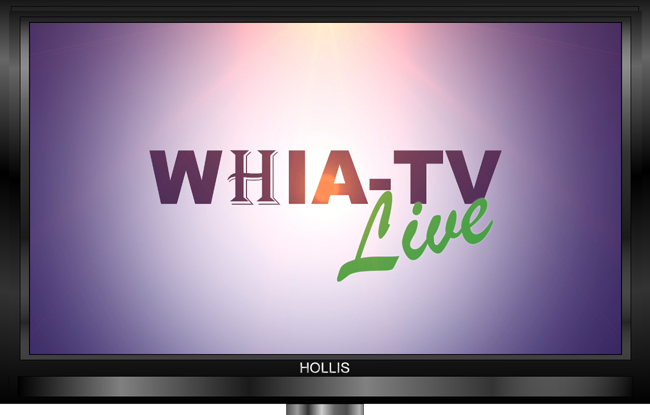 Hollis WHIA-TV Live on YouTube