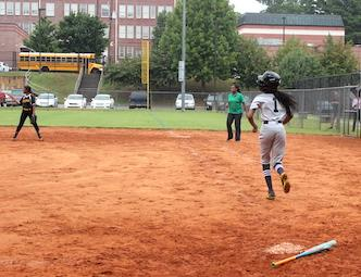 Hollis Innovation Academy Lady Blue Hawks Softball