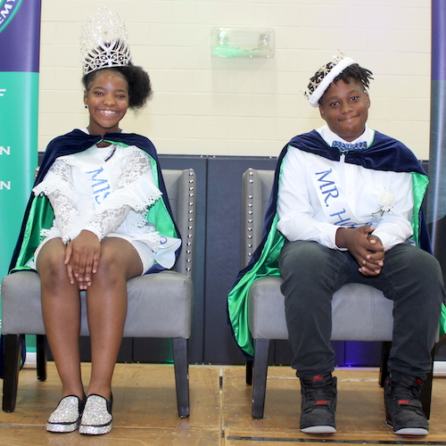 Hollis Celebrates 1st Homecoming Coronation in School's History