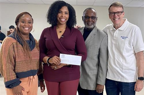 National Vision gives $5,000 to Hollis Innovation Academy