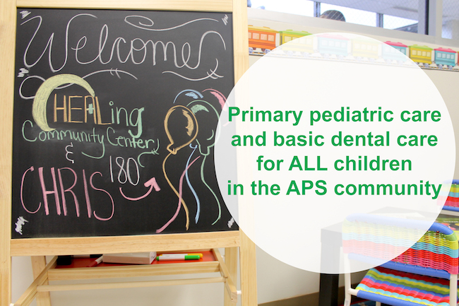 Offering primary pediatric care and basic dental care to ALL children in the APS community