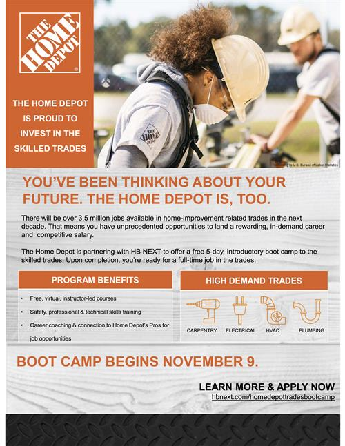 The Home Depot Boot Camp