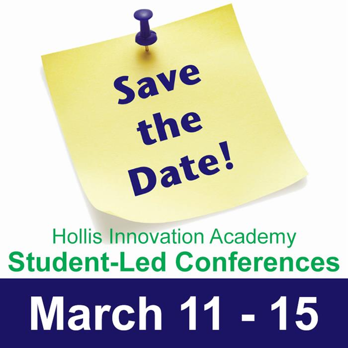 Student-Led Conferences at Hollis Innovation Academy