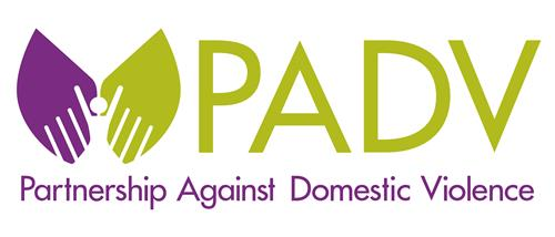 Partnership Against Domestic Violence logo